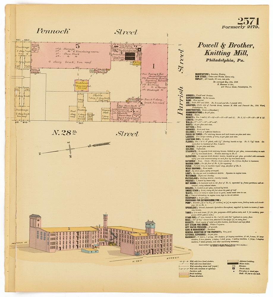 Hexamer General Surveys, Volume 27, Plate 2571