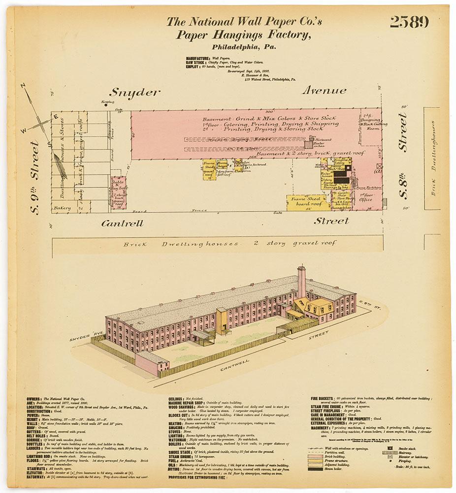 Hexamer General Surveys, Volume 27, Plate 2589