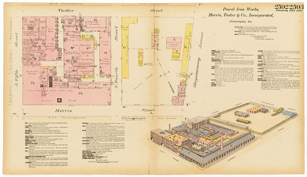 Hexamer General Surveys, Volume 27, Plates 2592-2593