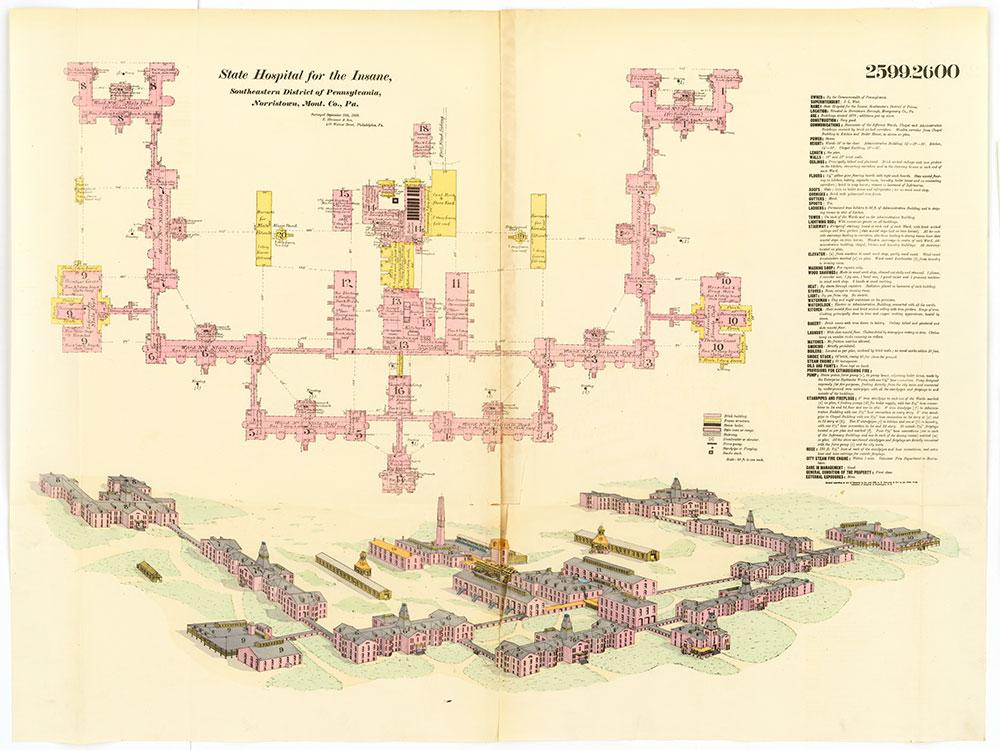 Hexamer General Surveys, Volume 27, Plates 2599-2600