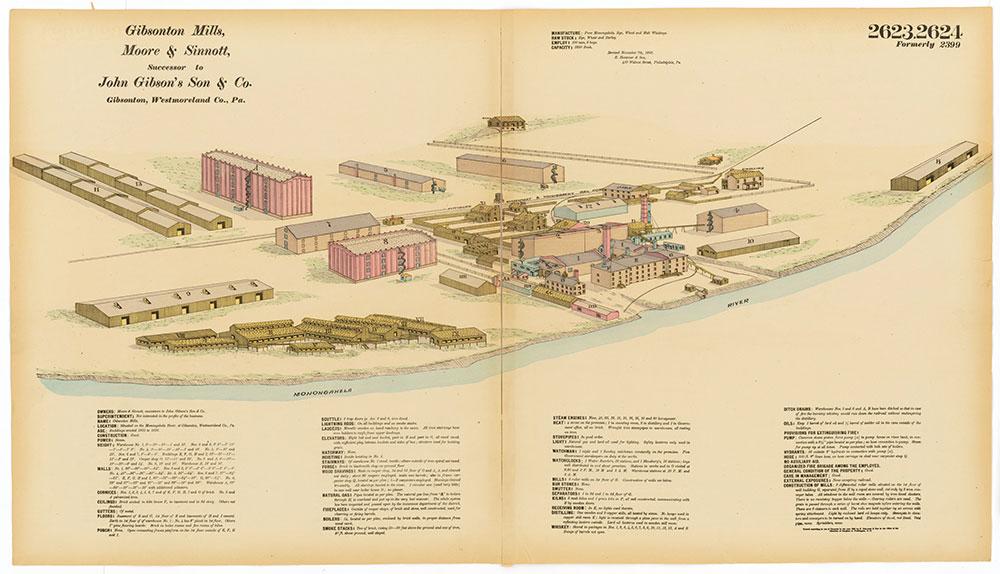 Hexamer General Surveys, Volume 27, Plates 2623-2624