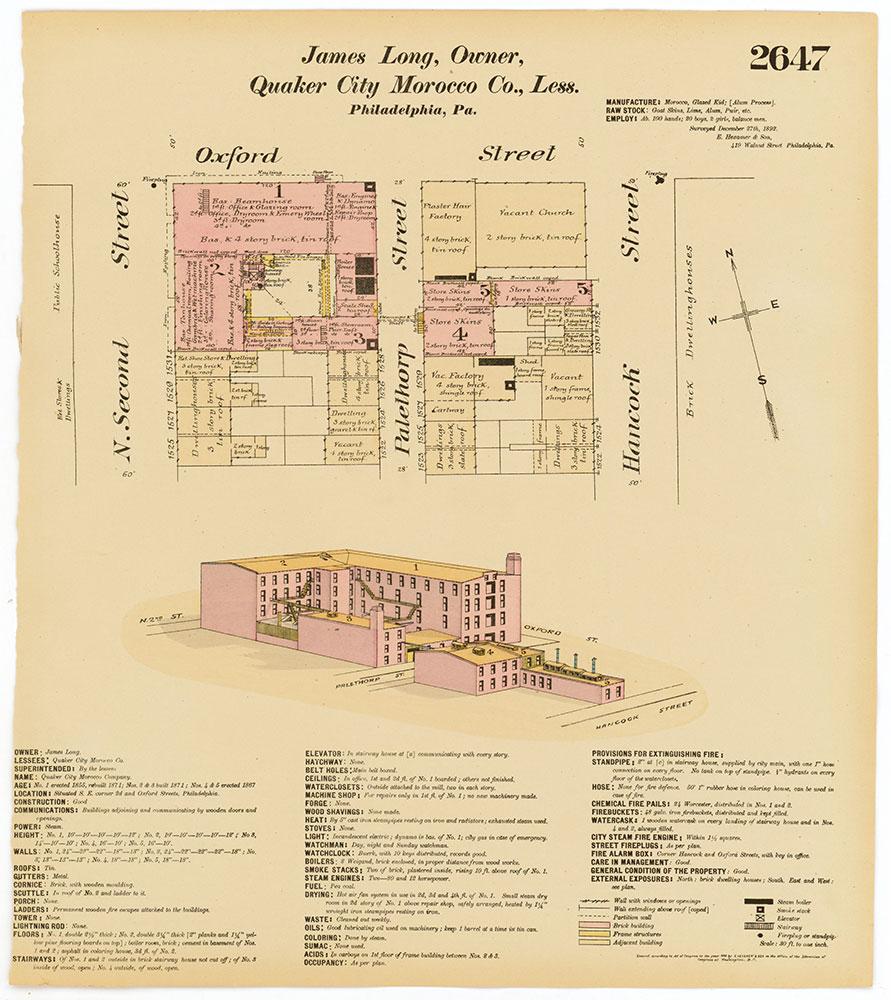 Hexamer General Surveys, Volume 27, Plate 2647