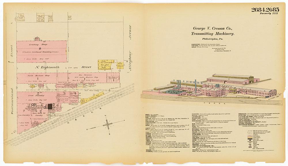 Hexamer General Surveys, Volume 28, Plates 2684-2685