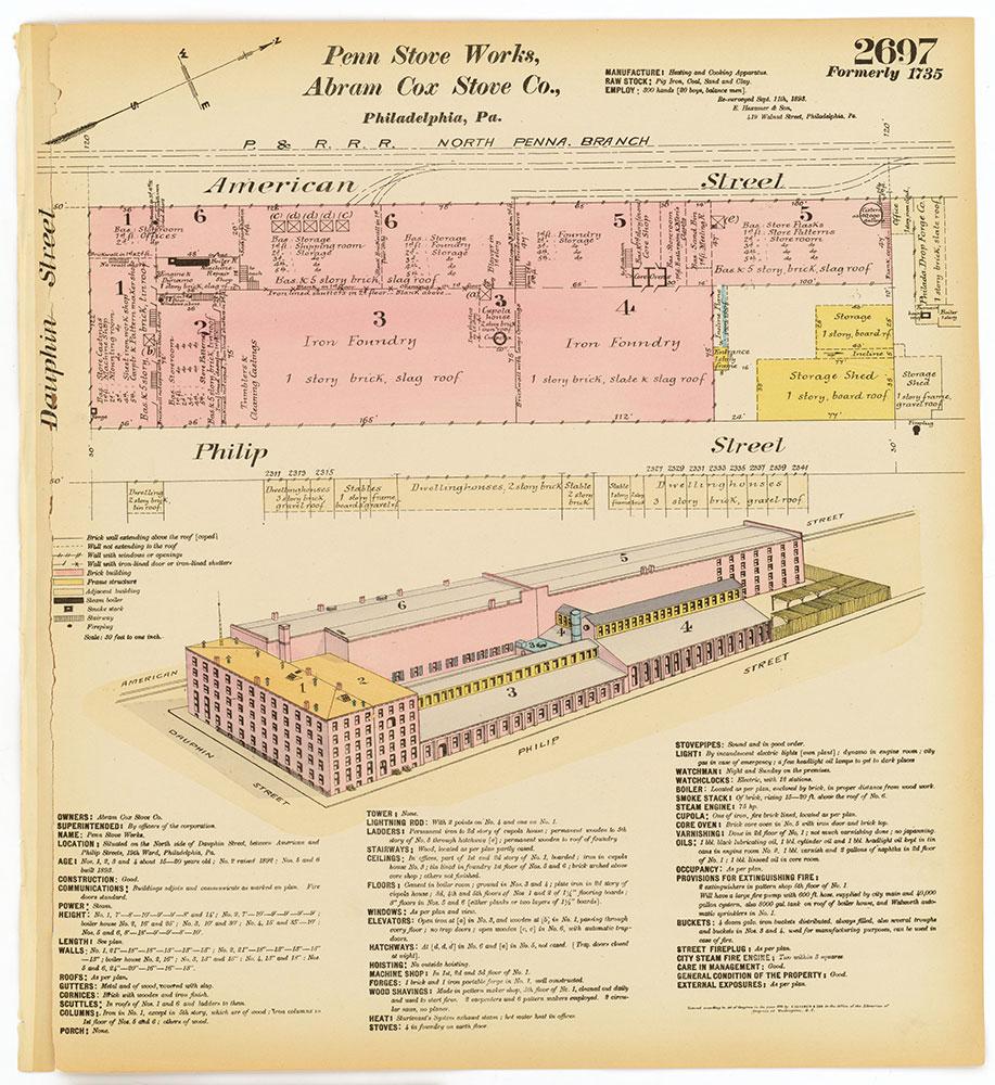 Hexamer General Surveys, Volume 28, Plate 2697