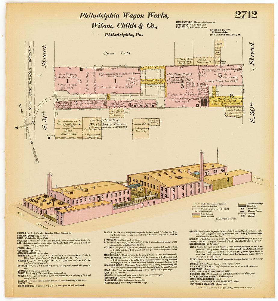 Hexamer General Surveys, Volume 28, Plate 2712