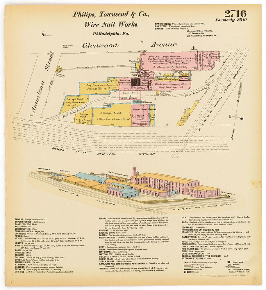 Hexamer General Surveys, Volume 28, Plate 2716