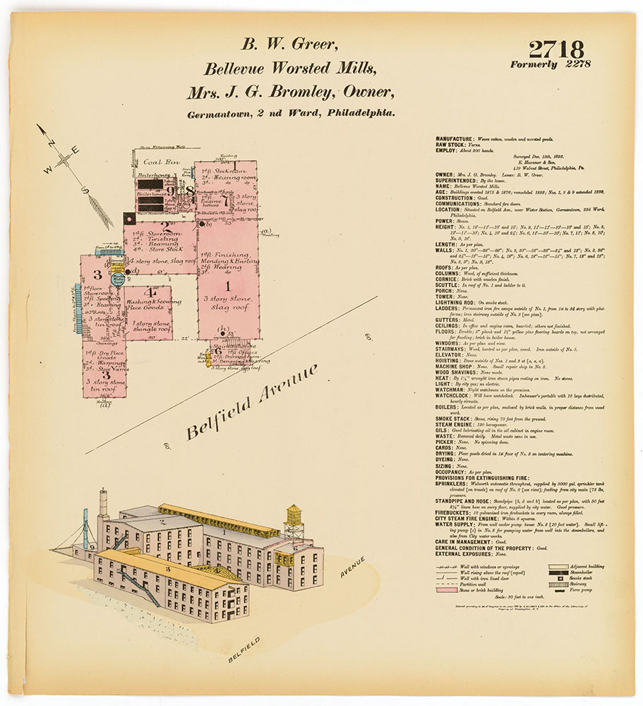 Hexamer General Surveys, Volume 28, Plate 2718