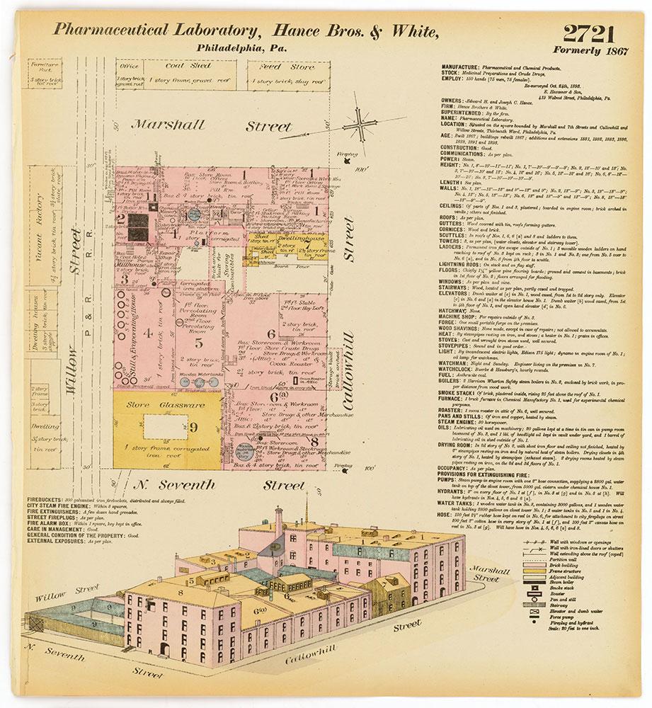 Hexamer General Surveys, Volume 28, Plate 2721