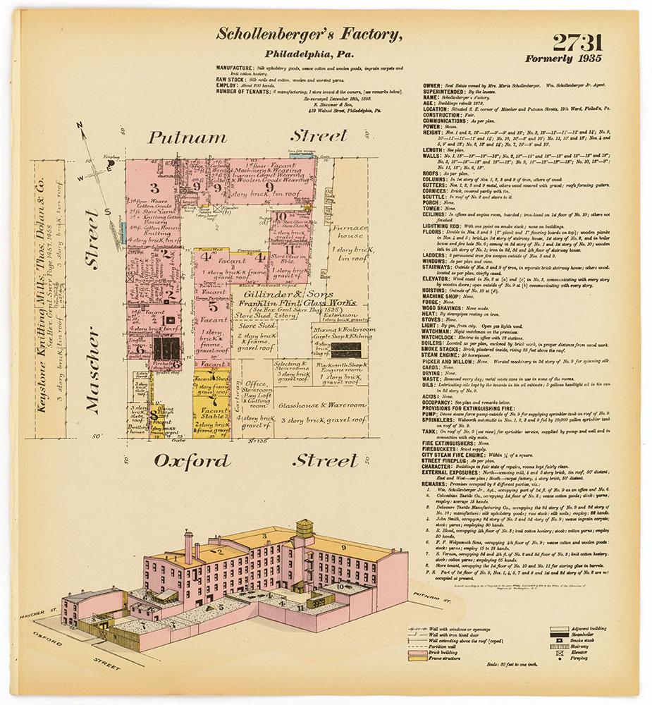 Hexamer General Surveys, Volume 28, Plate 2731