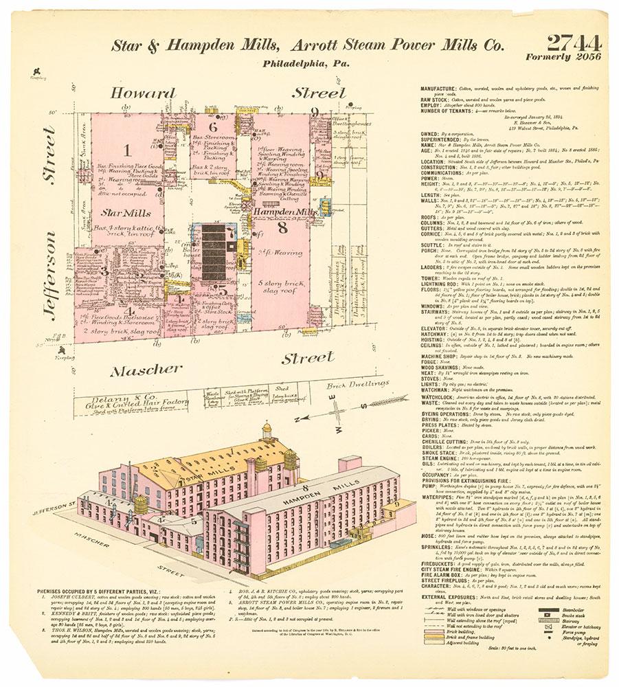 Hexamer General Surveys, Volume 28, Plate 2744
