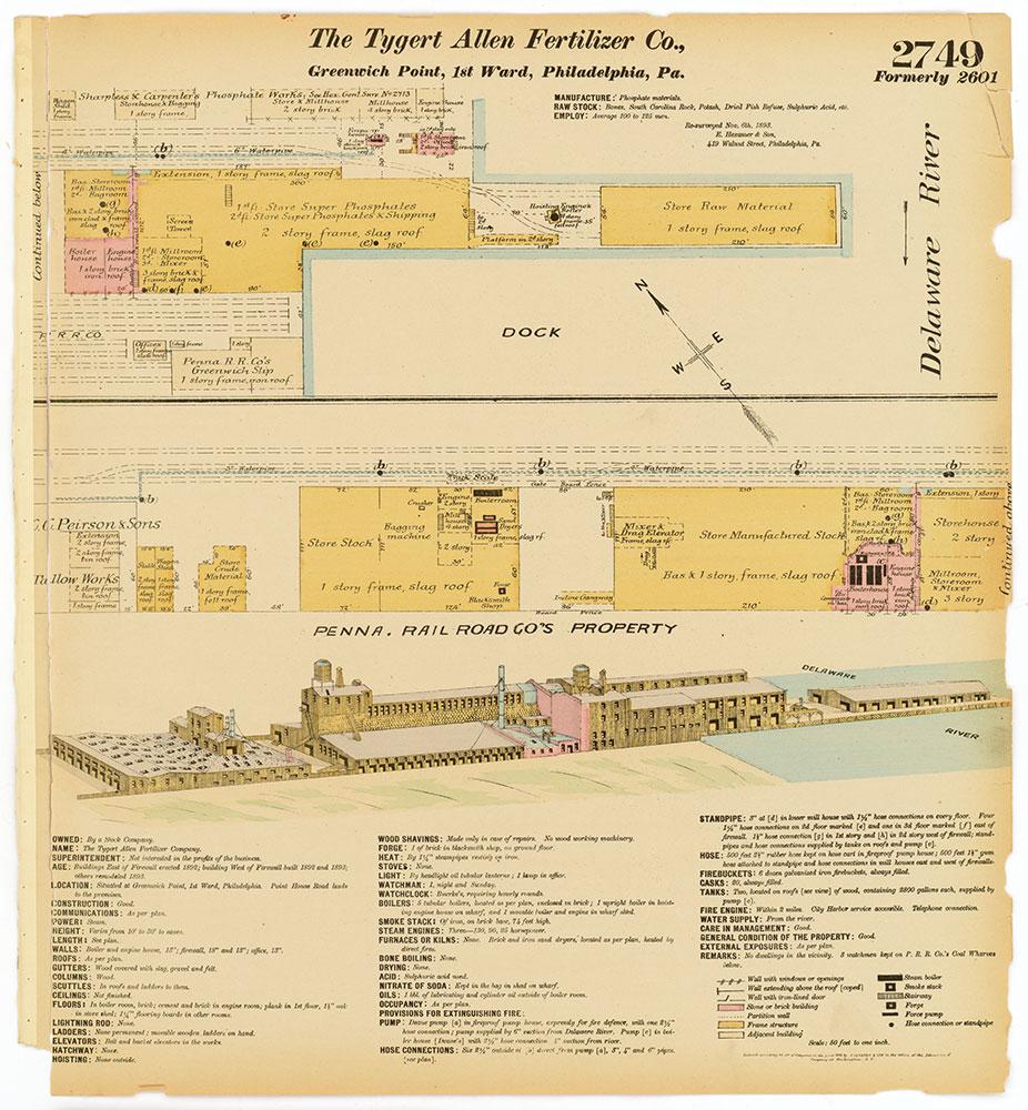 Hexamer General Surveys, Volume 28, Plate 2749