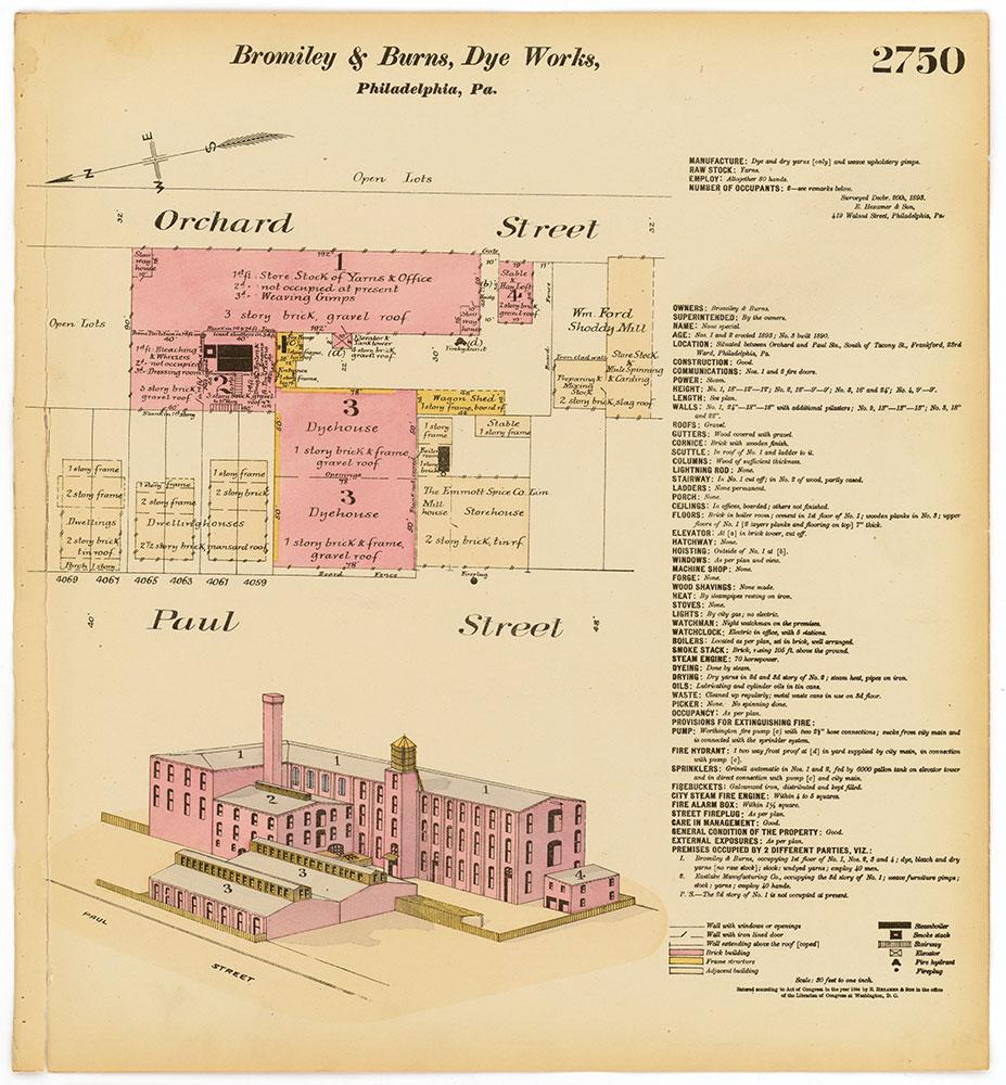 Hexamer General Surveys, Volume 28, Plate 2750