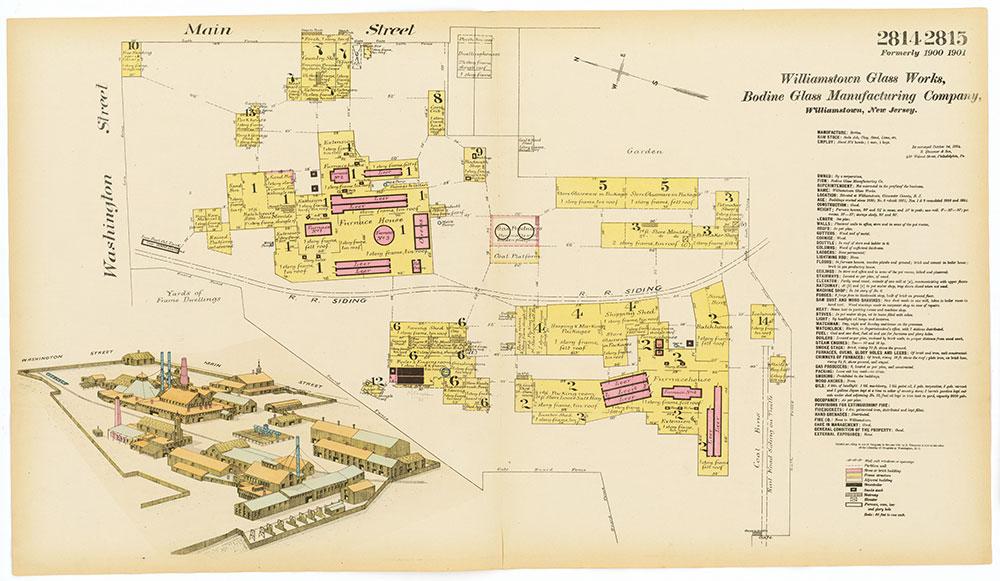 Hexamer General Surveys, Volume 29, Plates 2814-2815
