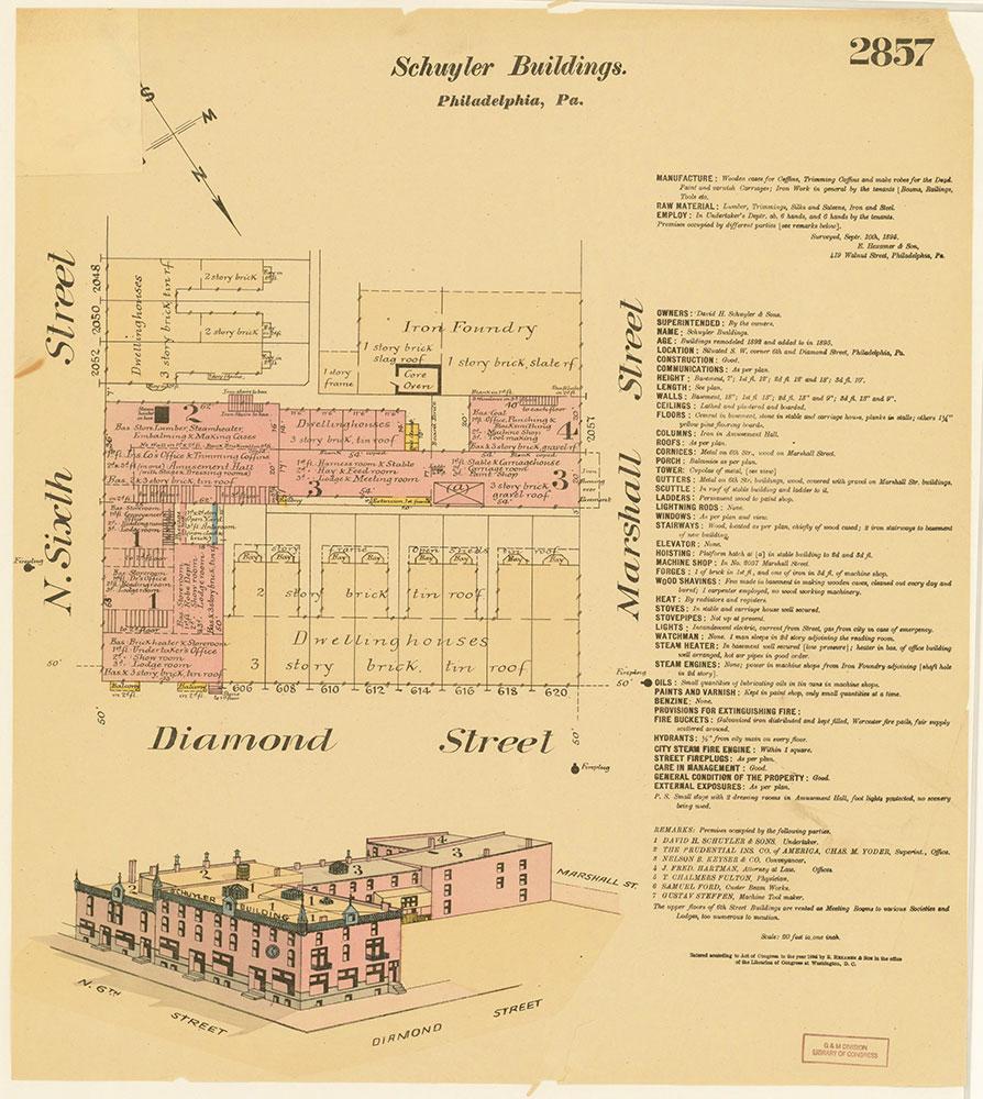 Hexamer General Surveys, Volume 30, Plate 2857