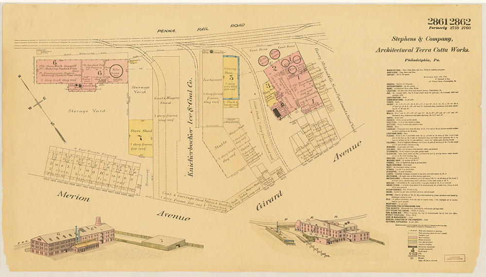 Hexamer General Surveys, Volume 30, Plates 2861-2862