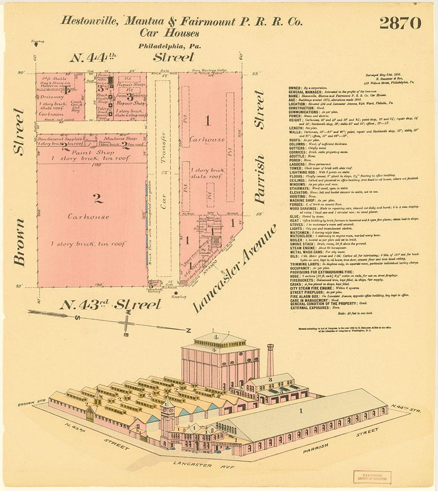 Hexamer General Surveys, Volume 30, Plate 2870
