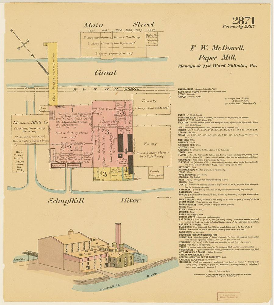 Hexamer General Surveys, Volume 30, Plate 2871