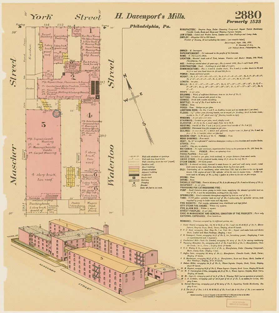 Hexamer General Surveys, Volume 30, Plate 2880
