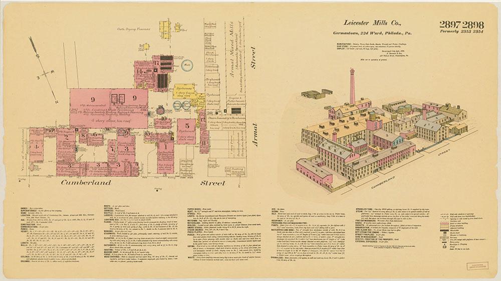 Hexamer General Surveys, Volume 30, Plates 2897-2898