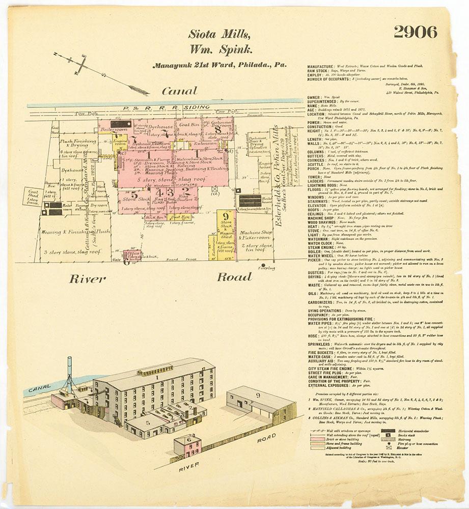 Hexamer General Surveys, Volume 30, Plate 2906