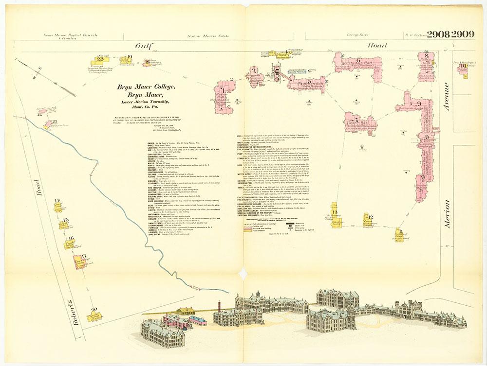 Hexamer General Surveys, Volume 30, Plates 2908-2909