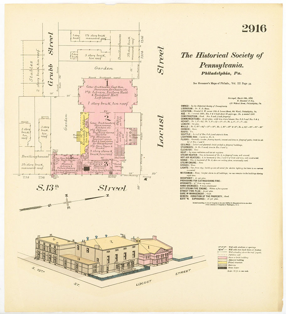 Hexamer General Surveys, Volume 30, Plate 2916