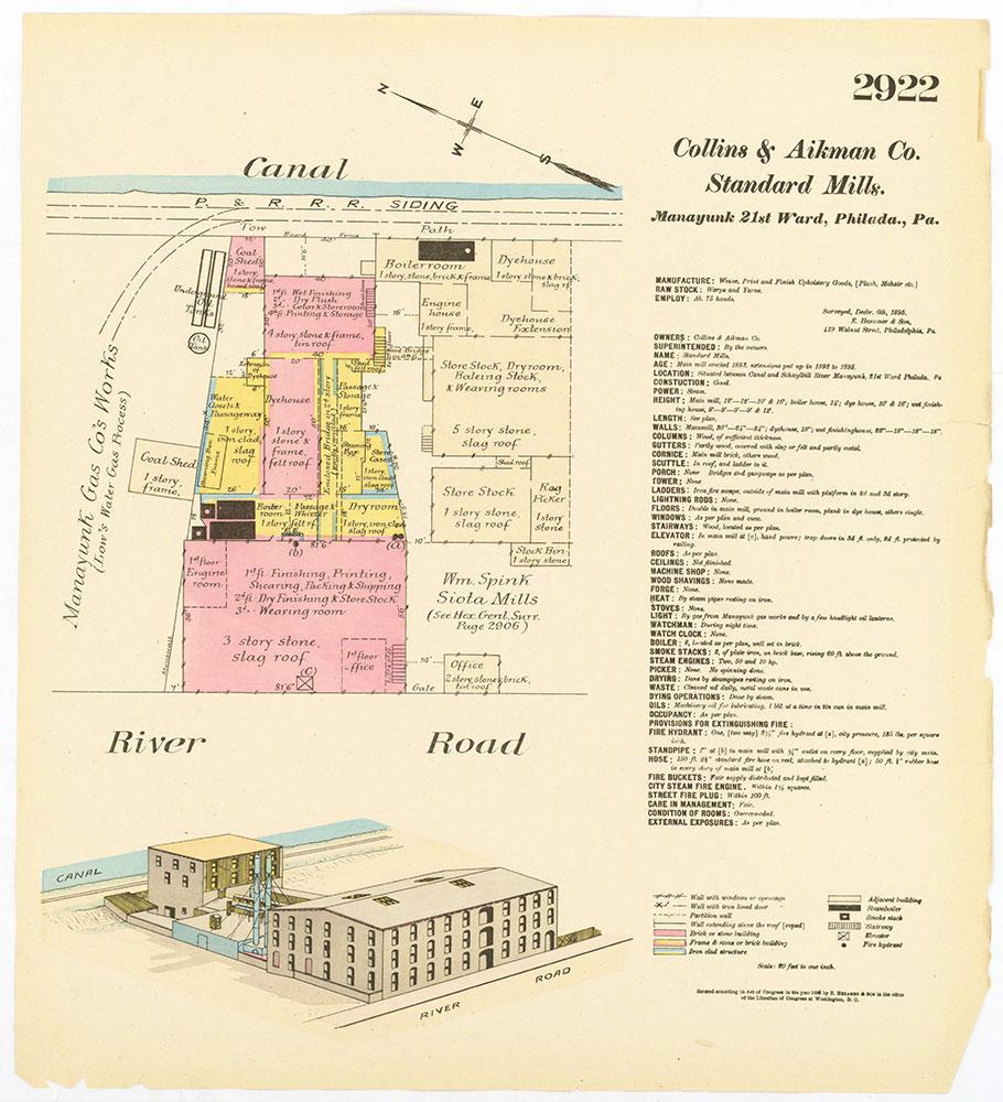 Hexamer General Surveys, Volume 30, Plate 2922
