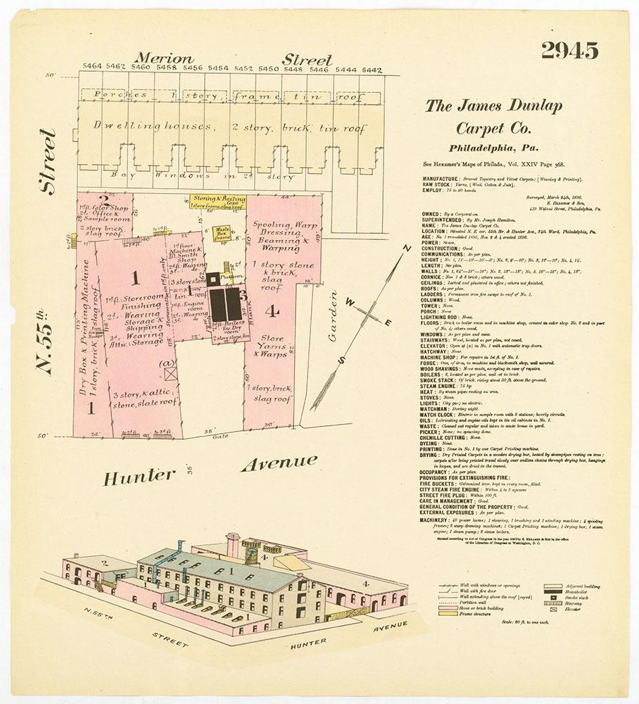 Hexamer General Surveys, Volume 30, Plate 2945