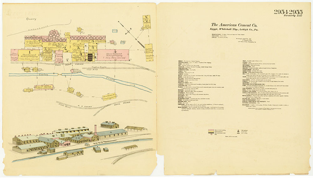Hexamer General Surveys, Volume 30, Plates 2954-2955