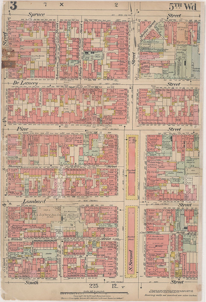 Insurance Maps of the City of Philadelphia, 1915-1916, Plate 3