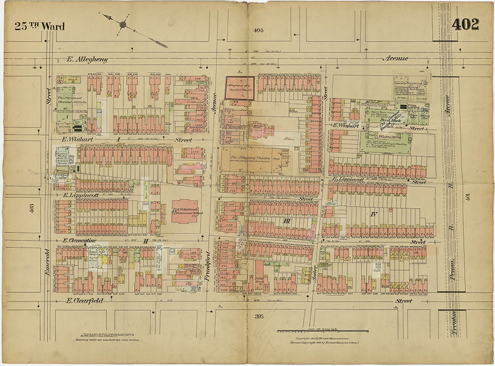 Insurance Maps of the City of Philadelphia, 1913-1918, Plate 402