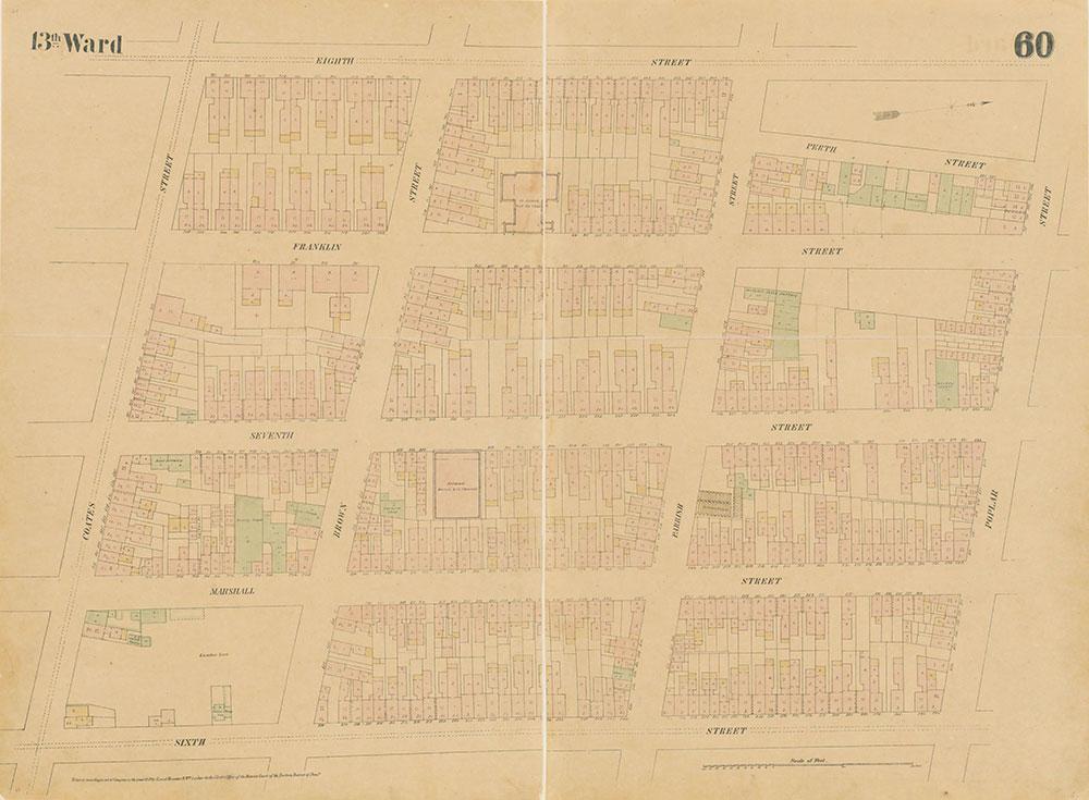 Maps of the City of Philadelphia, 1858-1860, Plate 60
