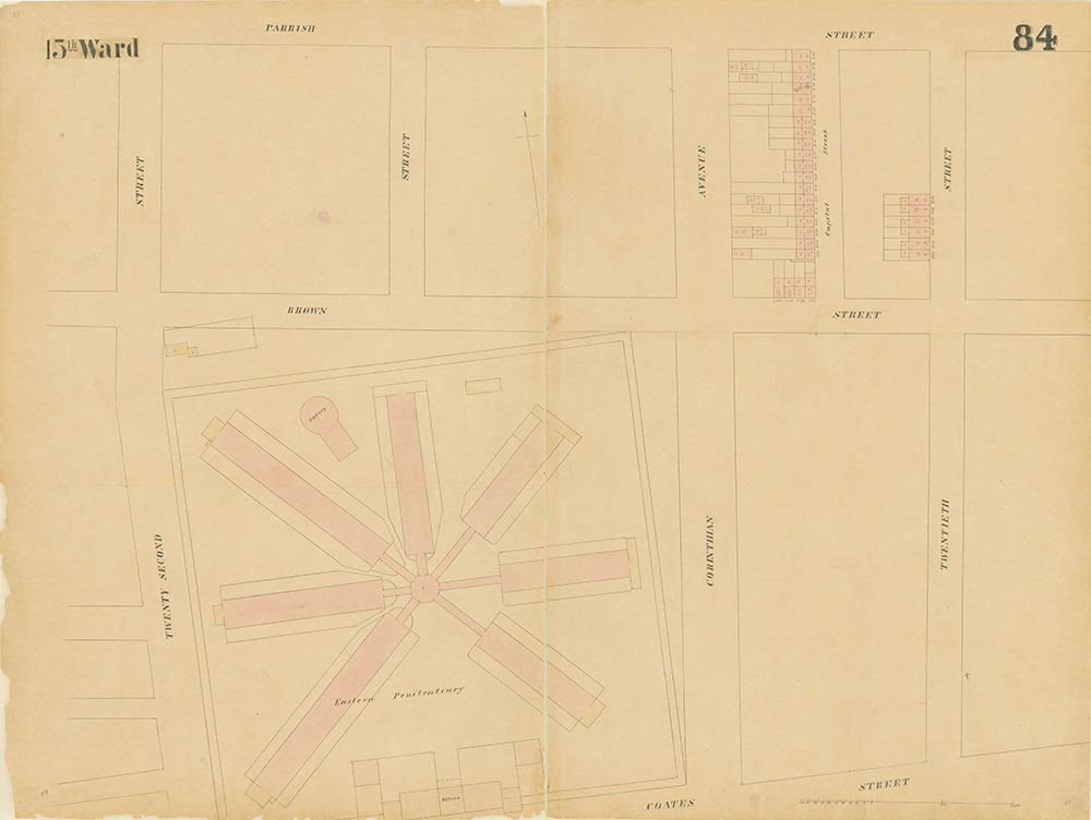 Maps of the City of Philadelphia, 1858-1860, Plate 84