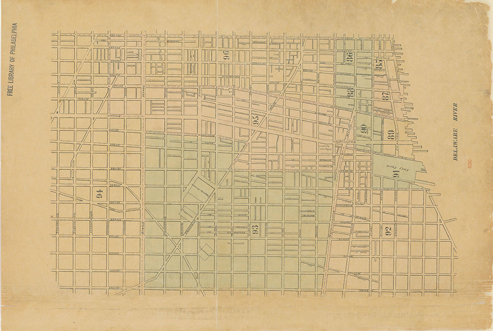 Maps of the City of Philadelphia, 1858-1860, Index (vol. 7)