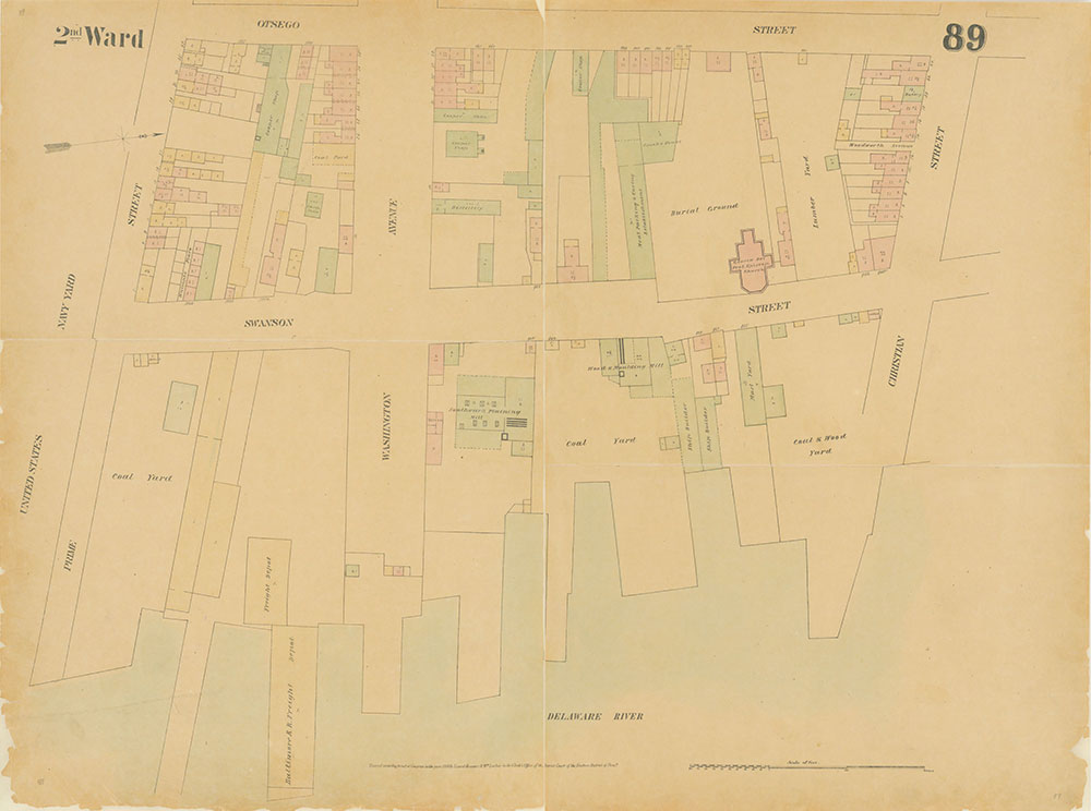Maps of the City of Philadelphia, 1858-1860, Plate 89