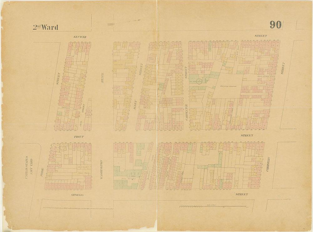 Maps of the City of Philadelphia, 1858-1860, Plate 90