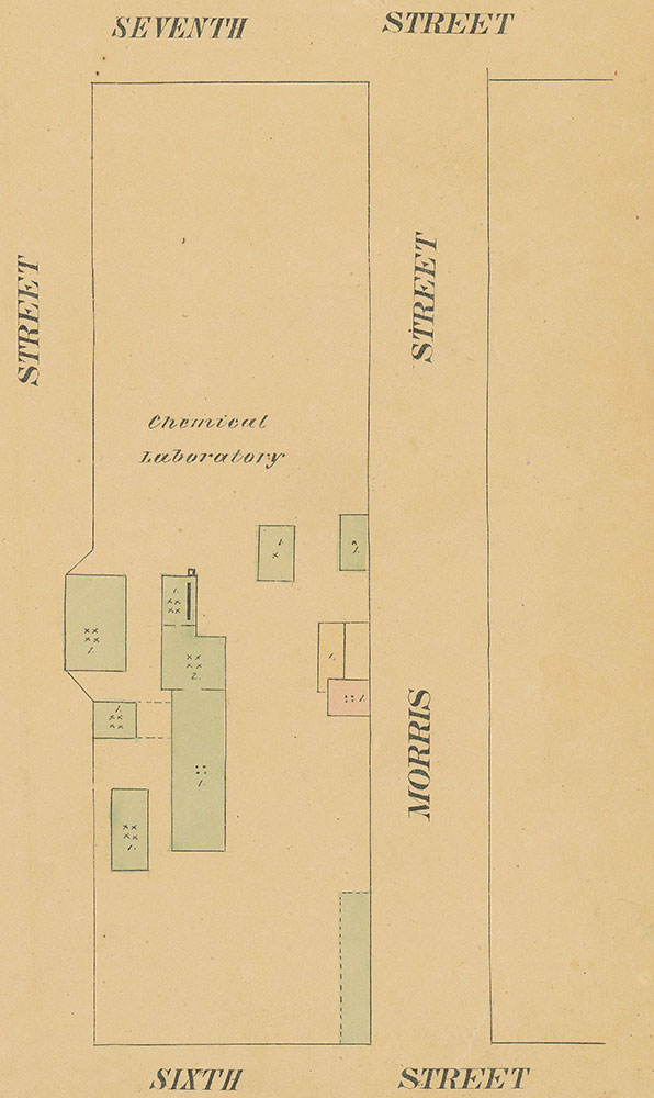 Maps of the City of Philadelphia, 1858-1860, Plate 93, Section B2