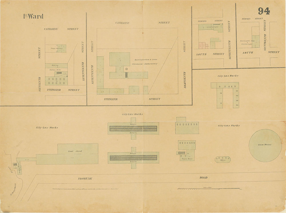 Maps of the City of Philadelphia, 1858-1860, Plate 94