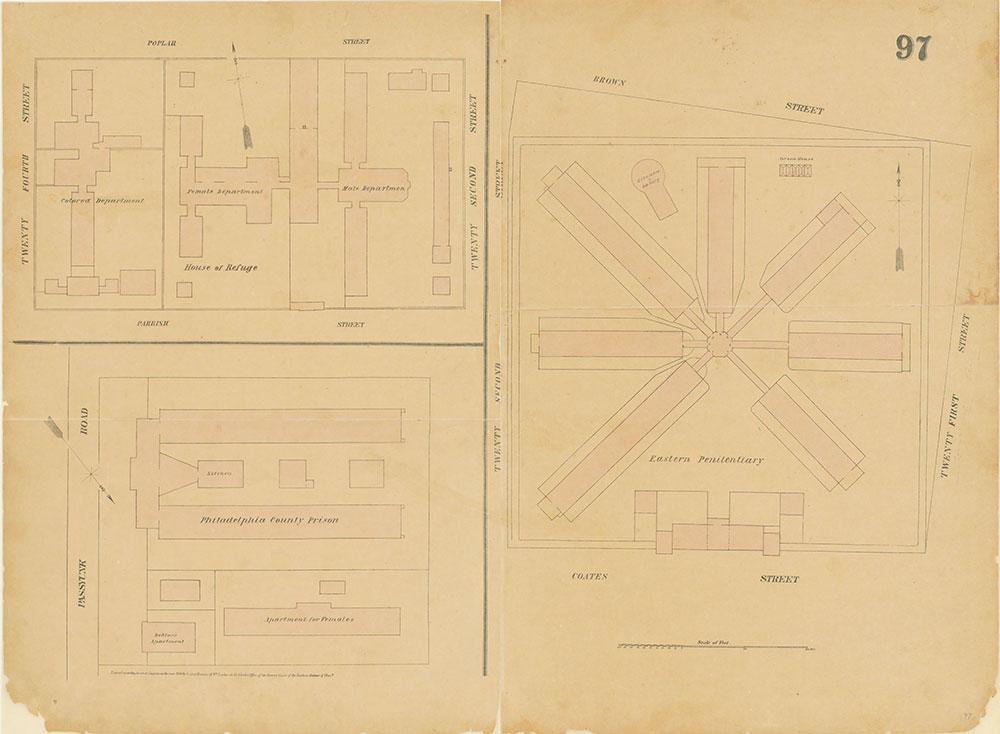Maps of the City of Philadelphia, 1858-1860, Plate 97