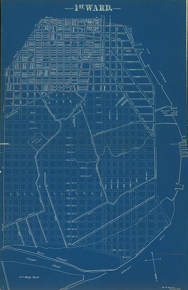 Atlas of the City of Philadelphia by Wards, Ward 1