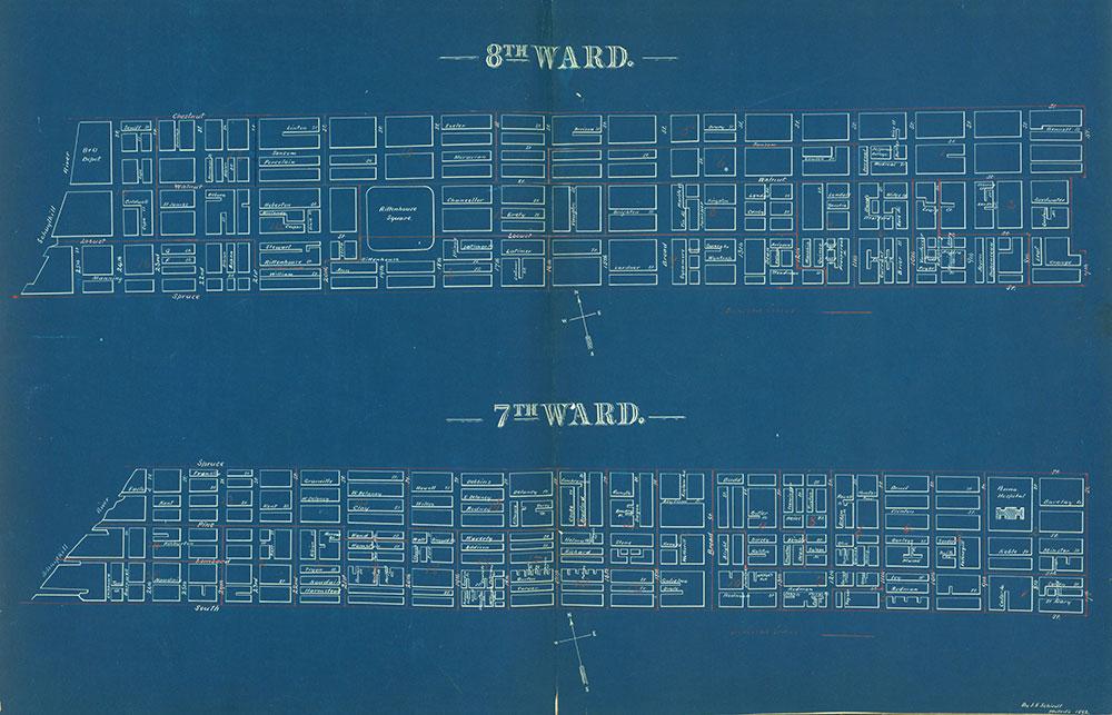 Atlas of the City of Philadelphia by Wards, Ward 7-8