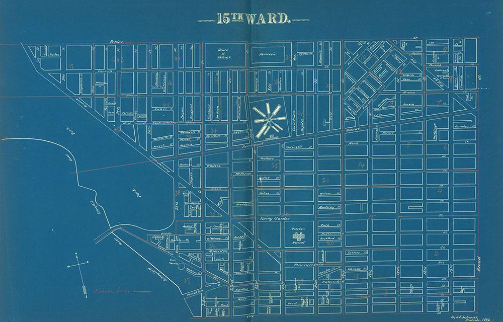 Atlas of the City of Philadelphia by Wards, Ward 15