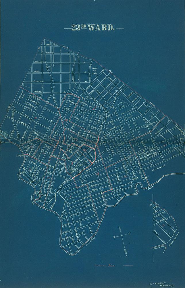 Atlas of the City of Philadelphia by Wards, Ward 23