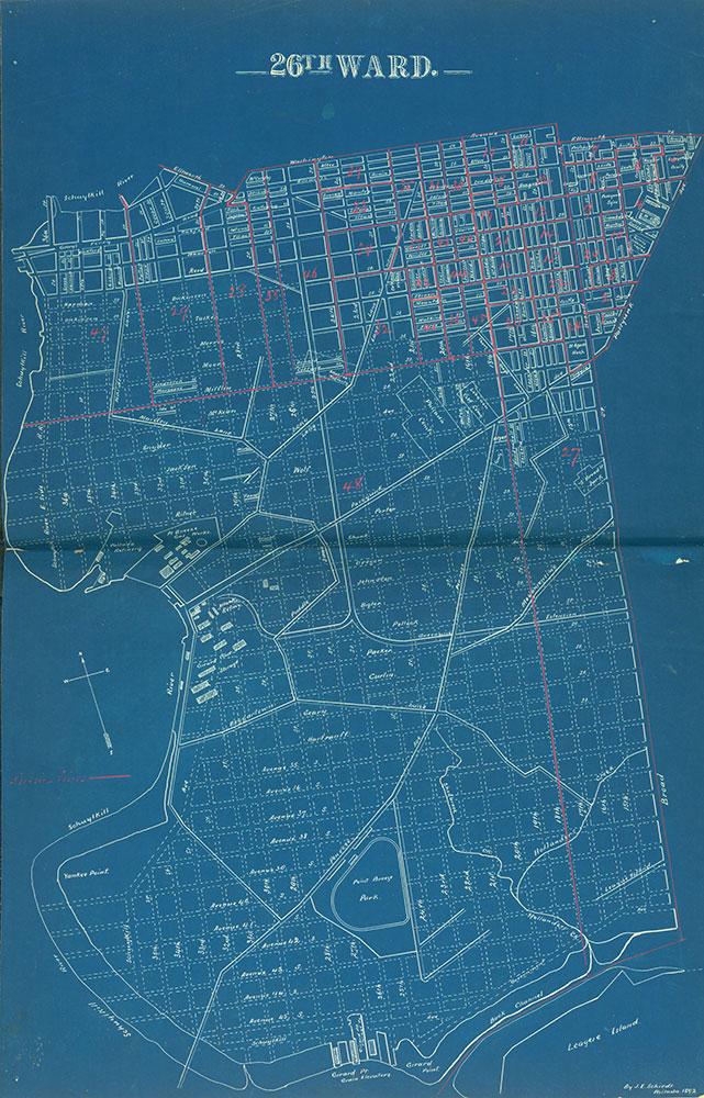Atlas of the City of Philadelphia by Wards, Ward 26