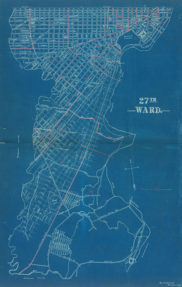 Atlas of the City of Philadelphia by Wards, Ward 27
