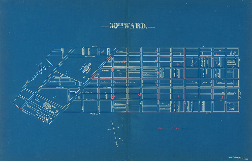 Atlas of the City of Philadelphia by Wards, Ward 30