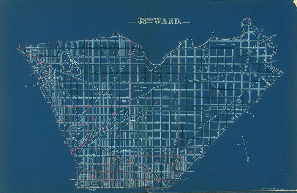 Atlas of the City of Philadelphia by Wards, Ward 33