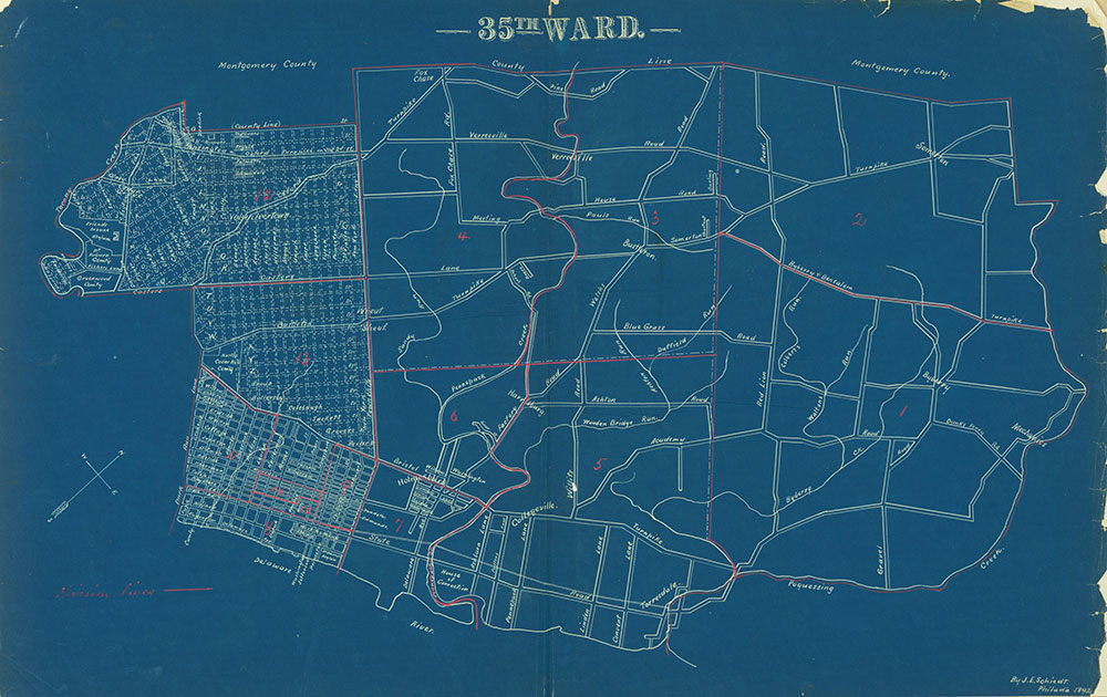 Atlas of the City of Philadelphia by Wards, Ward 35