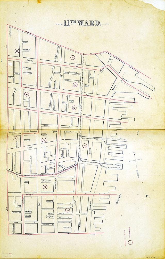 Atlas of the City of Philadelphia by Wards, Ward 11