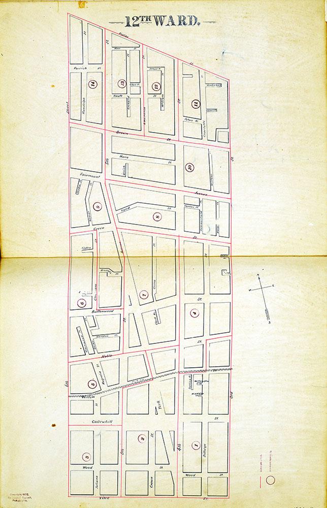 Atlas of the City of Philadelphia by Wards, Ward 12